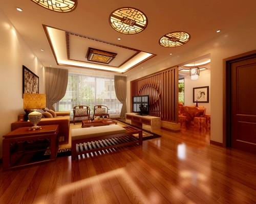 中式:客厅2