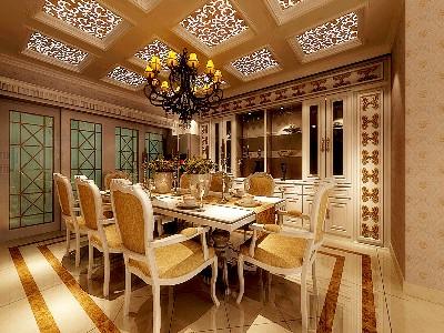 欧式古典:饭厅2